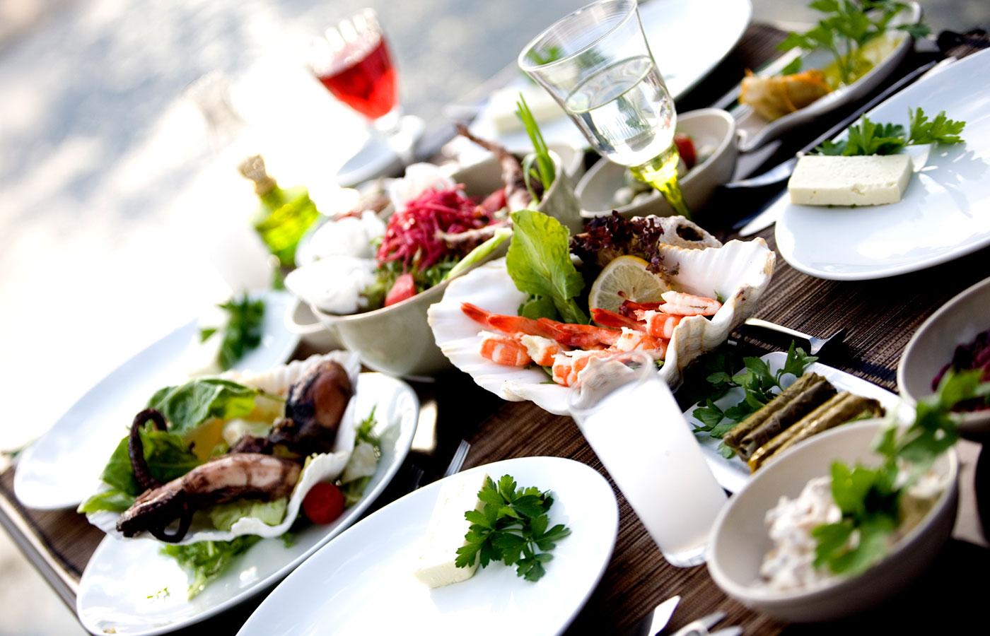 Kalbur Balık'ta eşsiz lezzetler sizi bekliyor