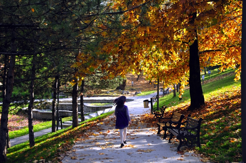 Seğmenler Parkı sakin ve huzur dolu bir gün için ideal.