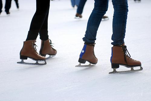 ankara-sevgiliyle buz pateni